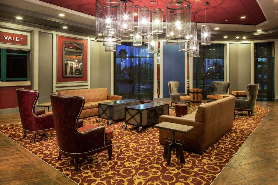 The Tower Hotel lobby, pictured here, has been upgraded. The Isle of Capri Casino Hotel Lake Charles recently renovated the Tower Hotel for $15 million. Photo: Courtesy Photo / ©Peter Malinowski/InSite 2013