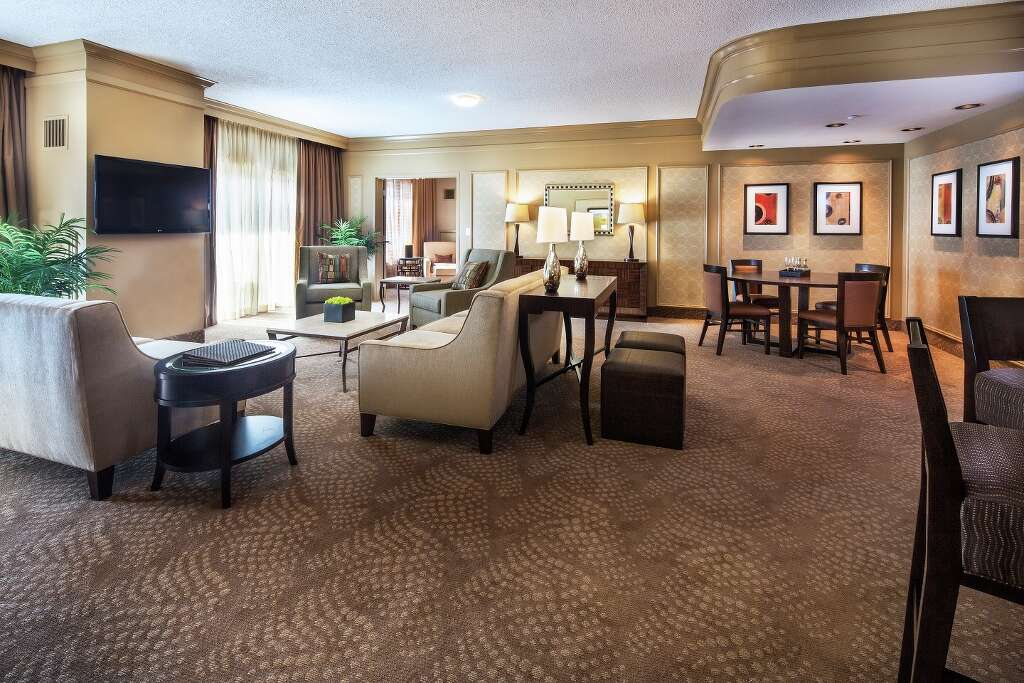 This Spacious Suite Living Room In The Tower Hotel Includes Upgraded Features Isle Of