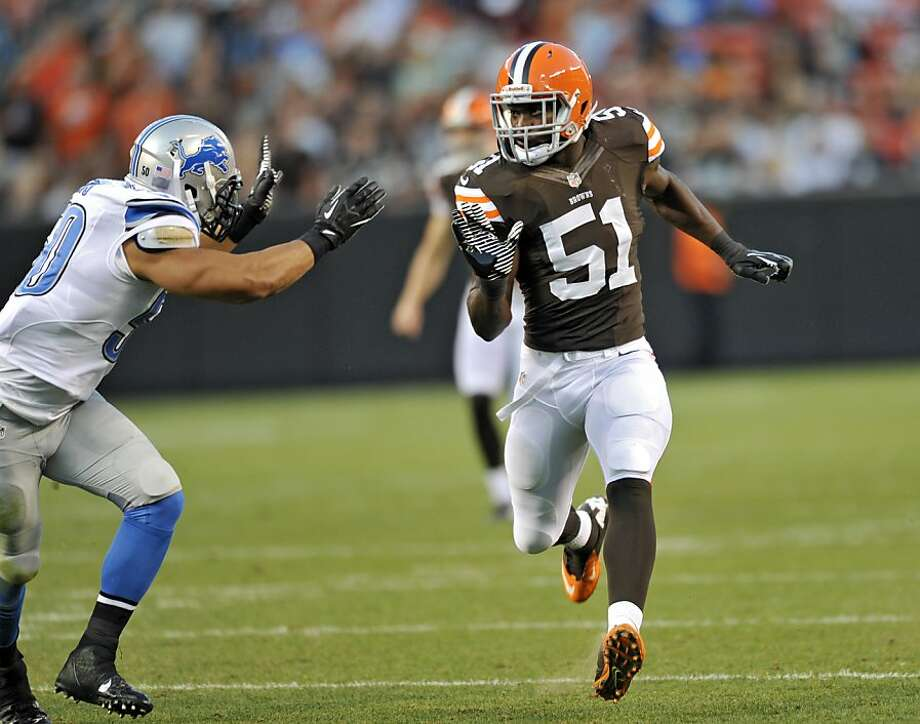 Browns rookie linebacker Barkevious Mingo had looked good during the preseason. Photo: David Richard, Associated Press
