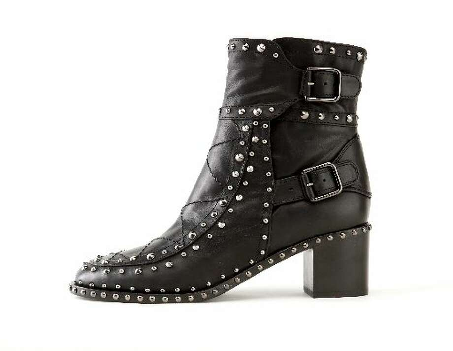 Laurence Dacade studded boot, $1,275, Neiman Marcus. Photo: Russell Yip, The Chronicle