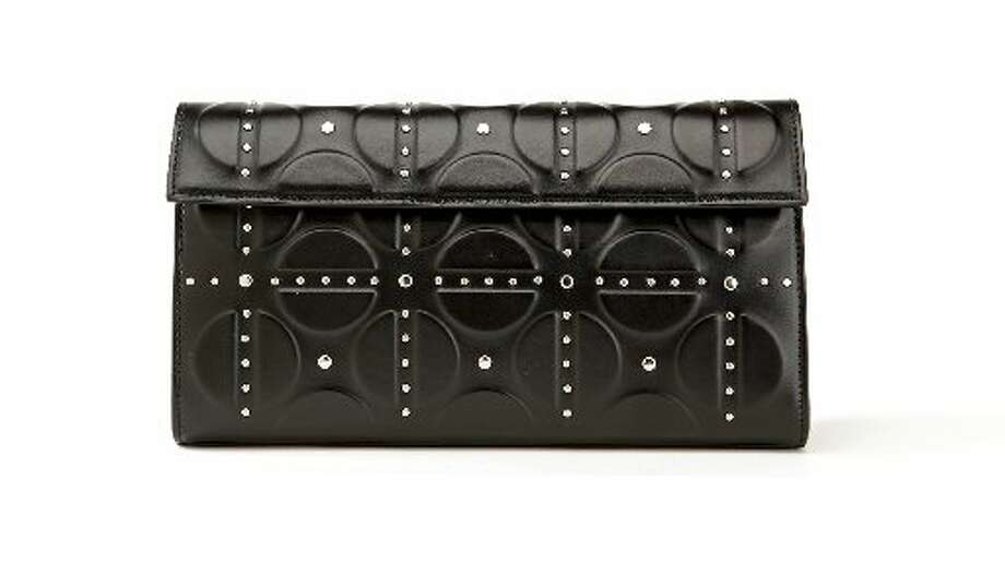 Azzedine Alaia studded clutch, $1,800, Saks Fifth Avenue. Photo: The Chronicle