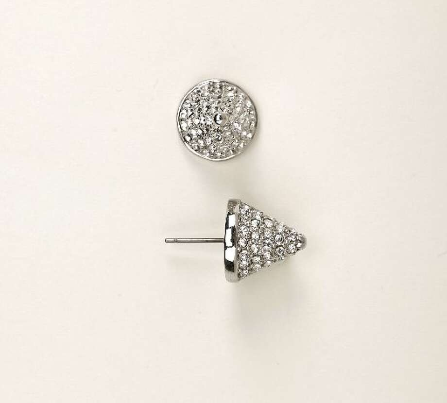 Eddie Borgo cone stud earrings, $240, Neiman Marcus. Photo: Russell Yip, The Chronicle