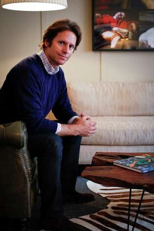 """Oct. 1: Vanity Fair's """"Bluebloods and Billionaires"""" article examines the emerging relationship between the Old World elite and new-money tech titans, focusing on Trevor Traina (pictured) as """"the Gold Coast's curator-in-residence"""" and designer Ken Fulk, whose brand of """"glamour and happiness"""" is portrayed as a good-taste shortcut. Photo: Russell Yip, The Chronicle"""