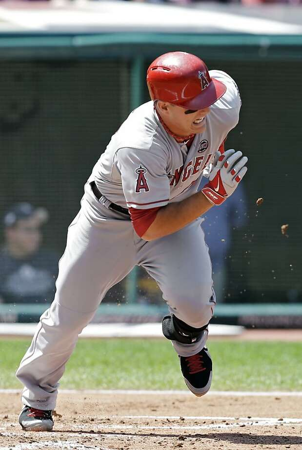 Mike Trout went No. 25 in the 2009 draft, the same year the Giants picked Zack Wheeler at No. 6. Photo: Mark Duncan, Associated Press