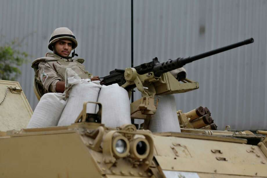 Armorers used to be responsible for crafting personal armor, but now they maintain and repair arms and weapons for the military or law enforcement.Source: Business Insider Photo: Hassan Ammar, STF / AP