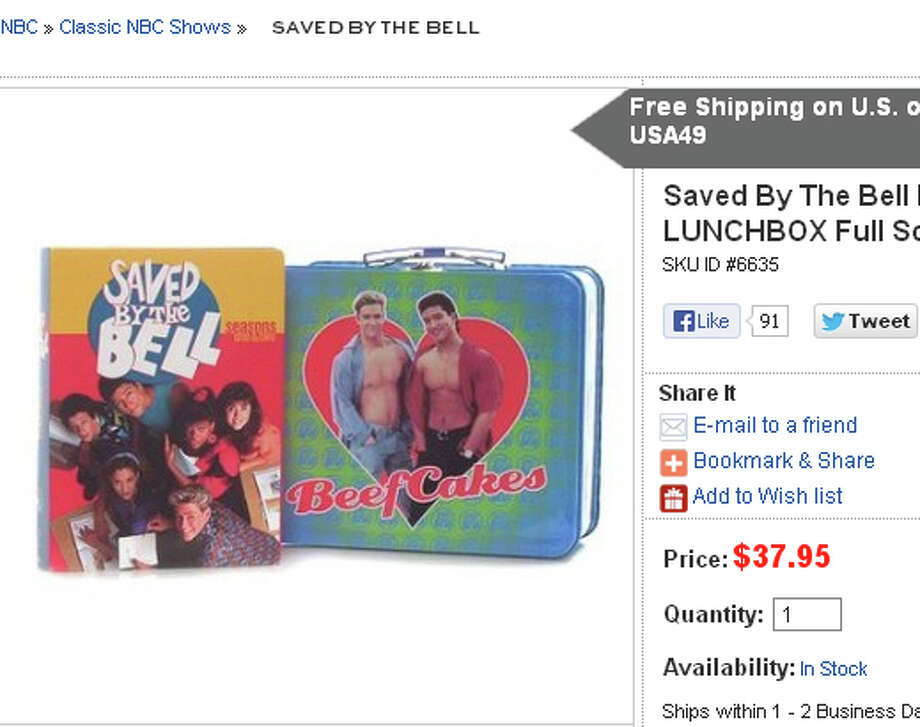 The lunch box/DVD combo special.
