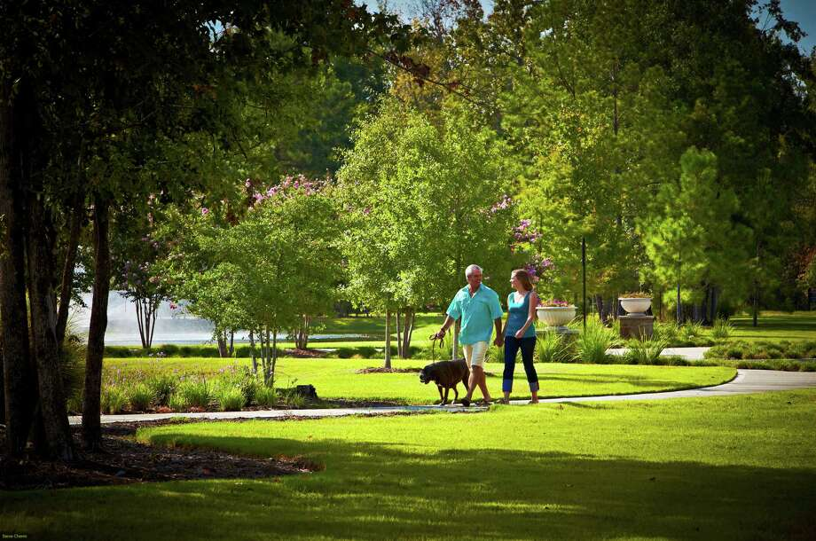 Woodforest, a 3,000-acre community by Johnson Development Corp. between The Woodlands and Conroe,  is getting a section for home buyers age 55 and up. Taylor Morrison plans to buy more than 700 home sites for its Bonterra at Woodforest active adult community.
