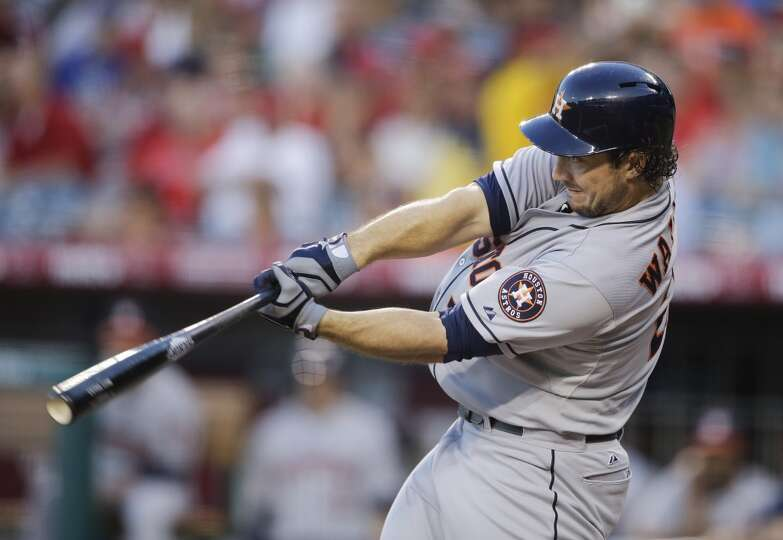 Aug. 16: Astros 8, Angels 2   Houston's bats finally woke up and k