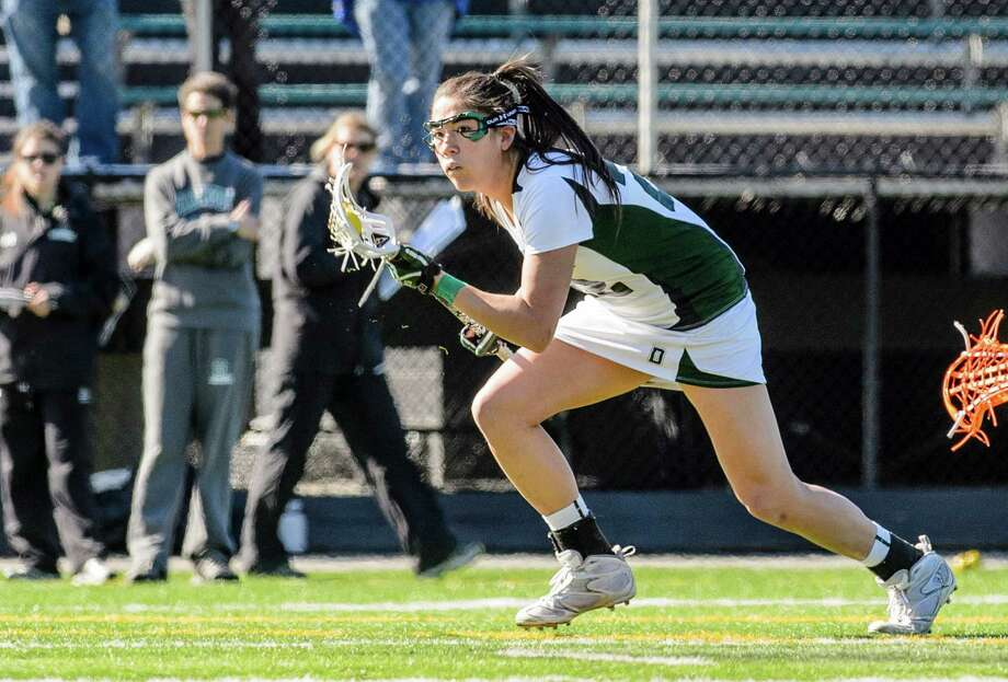 Old Greenwich resident and former Greenwich Cardinal star Hana Bowers recently finished a storied career at Dartmouth. During her four years on the Big Green, Bowers registered 51 goals and 66 points and she leaves the school ranked 20th all-time in points (124) and 19th in goals (94). Photo: Contributed Photo / Greenwich Citizen