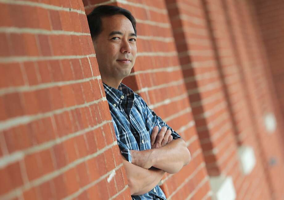 Robert Honma is an IT professional in Silicon Valley, who, like many others, is out of a job and looking for a new one. Photo: Mathew Sumner, Special To The Chronicle
