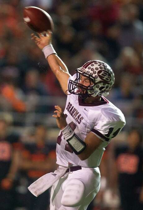East Bernard's Grant Aschenbeck is one of the top players returning for the state champions. Photo: J. Patric Schneider, Freelance / © 2012 Houston Chronicle