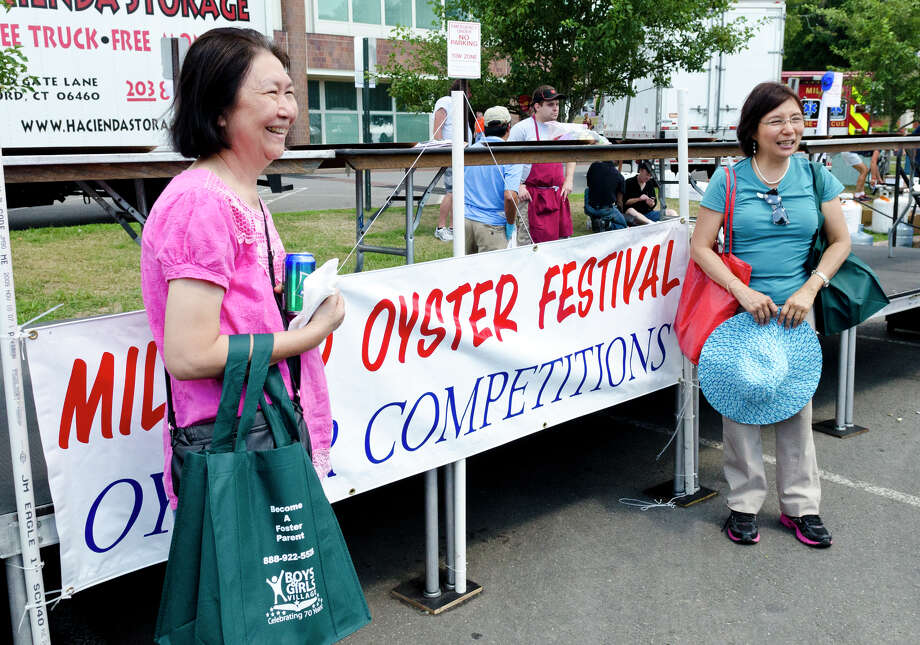 The 39th annual Milford Oyster Festival in downtown Milford on Saturday, Aug. 17, 2013. Photo: Amy Mortensen / Connecticut Post Freelance
