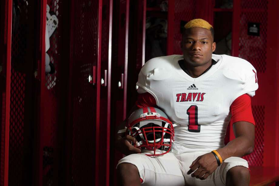 Travis defensive back Nick Harvey poses for a portrait on Friday, Aug. 9, 2013, in Richmond.( J. Patric Schneider / For the Chronicle ) Photo: J. Patric Schneider, Freelance / © 2013 Houston Chronicle
