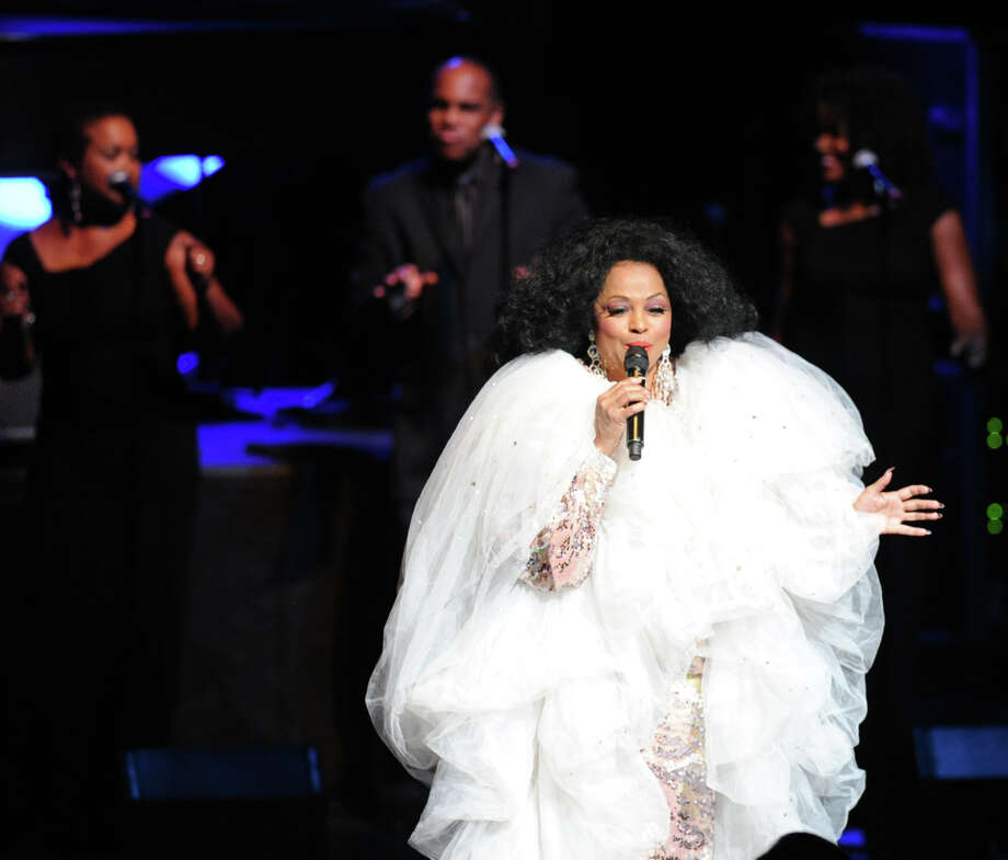 Diana Ross performs at the Palace Theater in Stamford, Saturday night, August 17, 2013. Photo: Bob Luckey / Greenwich Time