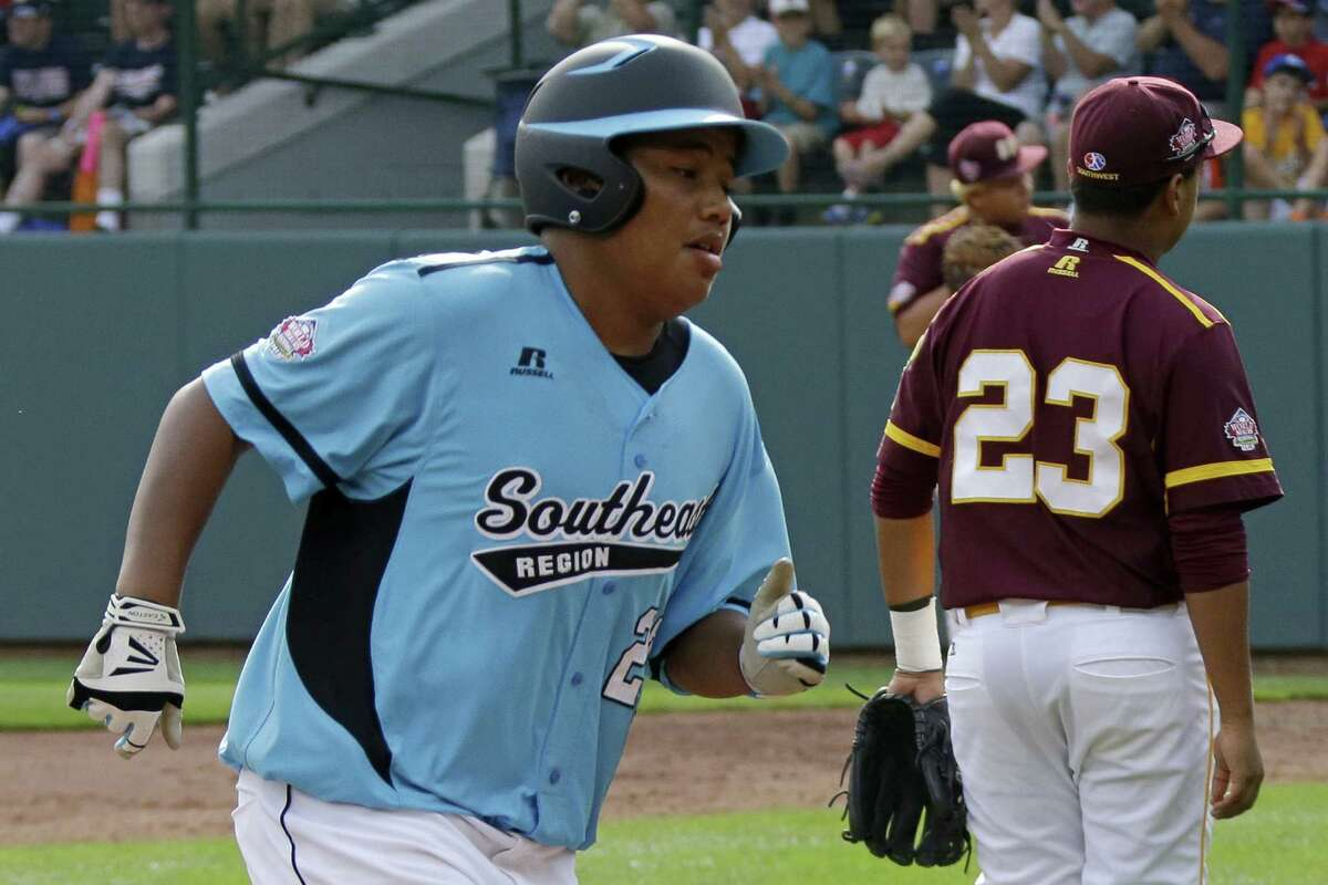 Nashville's Trae McLemore rounds third after his grand slam off Corpus Christi's Jared Cruz in the sixth. Cruz got some payback in the bottom half with a solo shot off McLemore.