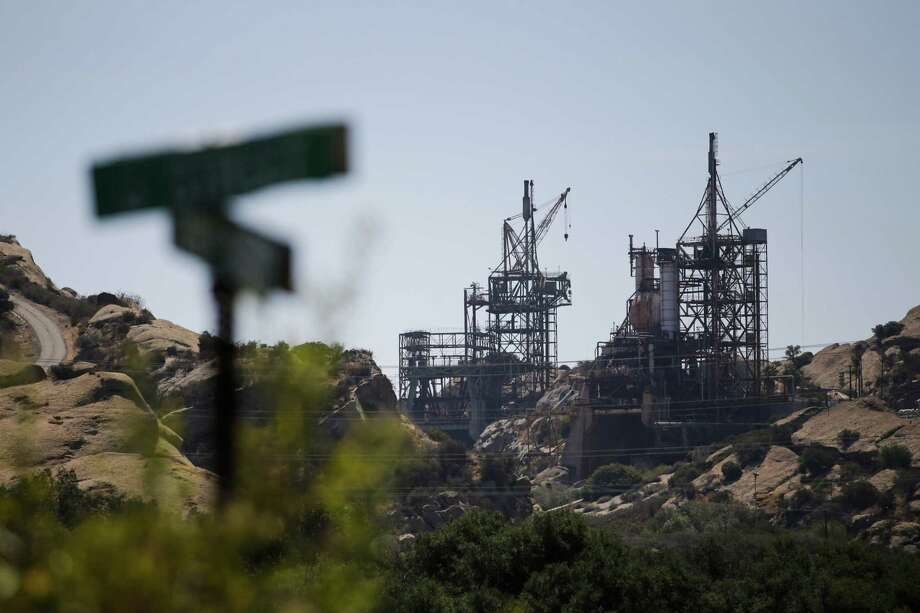 The Santa Susana Field Laboratory in Simi Valley, Calif., a former Cold War rocket test site, suffered a partial nuclear meltdown in 1959. Photo: Jae C. Hong / Associated Press