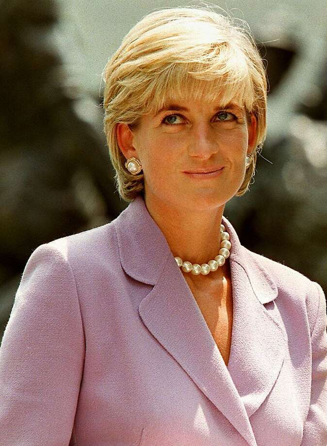 (FILES) This picture taken 17 June 1997 shows Diana, Princess of Wales, a key volunteer of the British Red Cross Landmine Campaign at Red Cross headquarters in Washington DC. British police said on August 17, 2013 they were examining recently received information relating to the 1997 death of Diana, Princess of Wales. London's Metropolitan Police said it was checking the credibility of new information about the deaths of the princess and her boyfriend Dodi al-Fayed.   AFP PHOTO / JAMAL A. WILSONJAMAL A. WILSON/AFP/Getty Images Photo: JAMAL A. WILSON, Stringer / AFP ImageForum