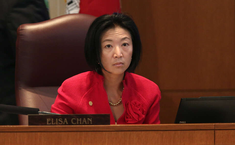 One expert says it's unclear if Elisa Chan's remarks will benefit her in the conservative Texas Senate District 25. Photo: Jerry Lara, San Antonio Express-News