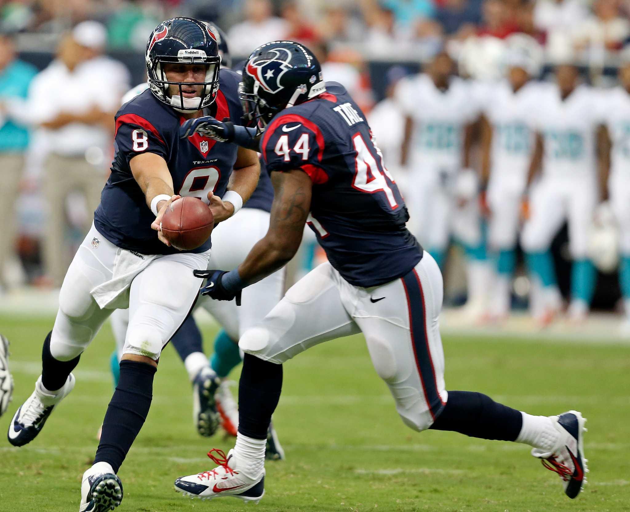 Texans Qb Depth Shines Again With Yates Keenum San