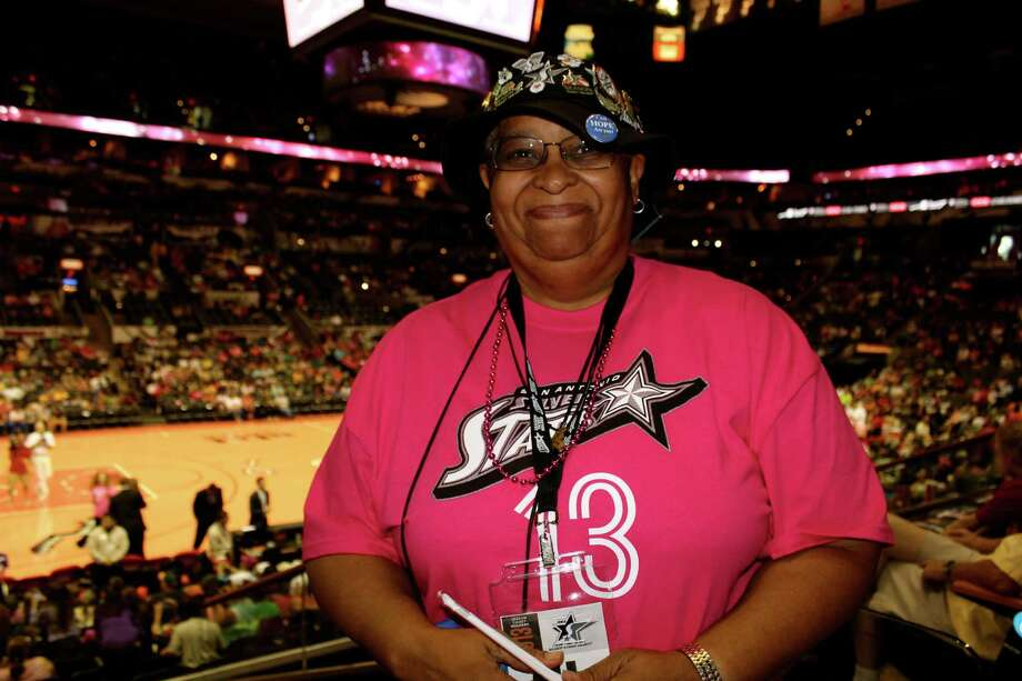 mySpy: The San Antonio Silver Stars played the Phoenix Mercury on Saturday, Aug. 17, 2013, at the AT&T Center. Photo: Yvonne Zamora / San Antionio Express-News