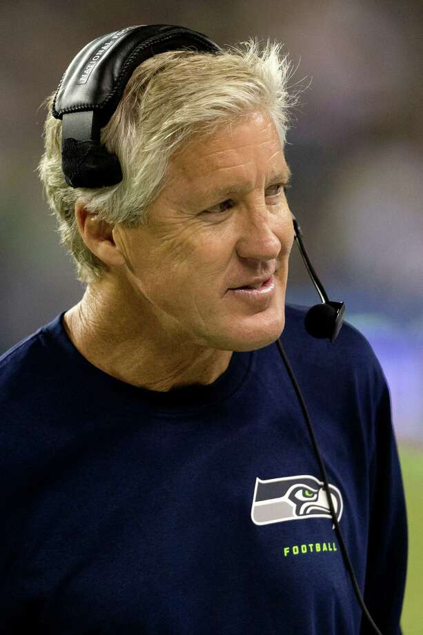 Head coach Pete Carroll on the sidelines during the second half of a preseason game Saturday, August 17, 2013, at CenturyLink Field in Seattle. The Seahawks beat the Broncos 40-10. The event marked the Seahawks first home game this season. Photo: JORDAN STEAD, SEATTLEPI.COM / SEATTLEPI.COM