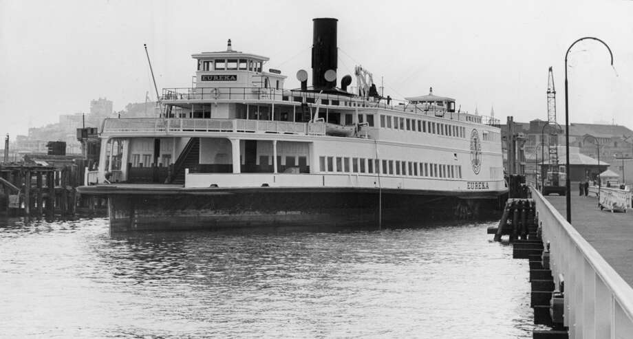 Eureka in her berth. September 30, 1963. Photo: Barney Peterson, The Chronicle