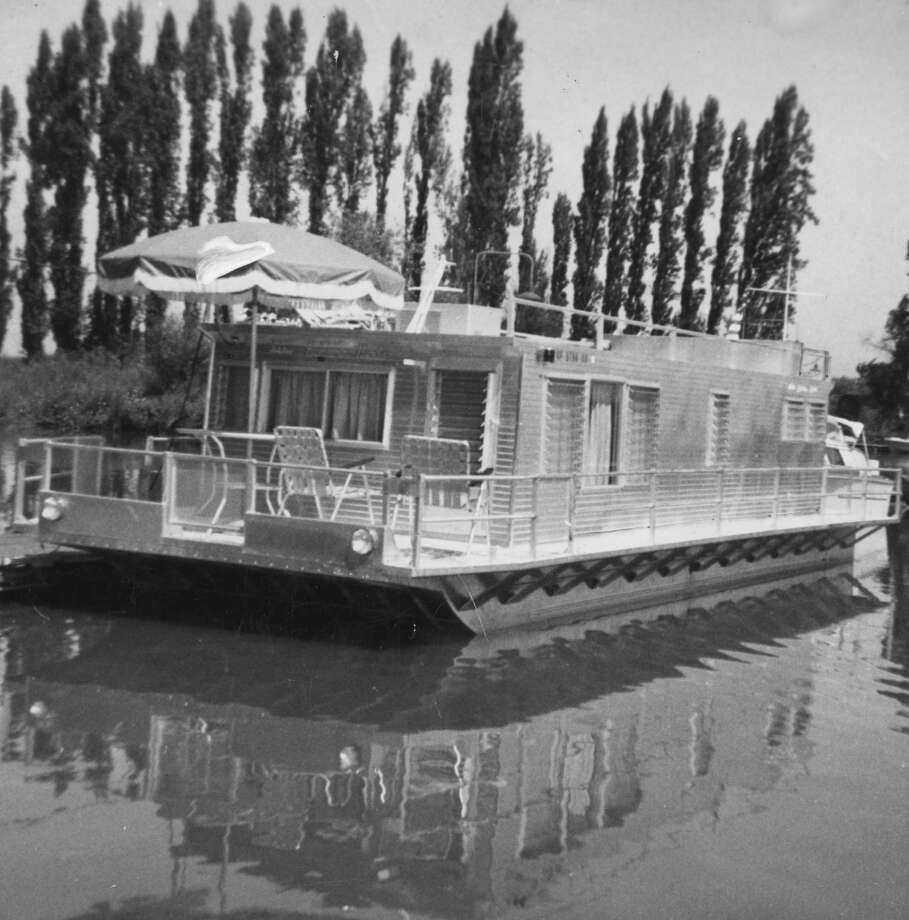Lots of deck space on this houseboat, March 22, 1964.