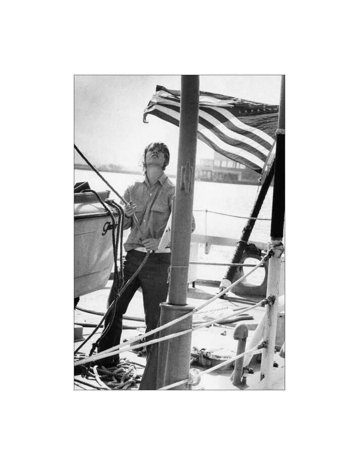 Sea Scouts go to Alaska on an ex-Coast Guard cutter. Here, Dave Iverson. October 13, 1978. Photo: John O'Hara, The Chronicle