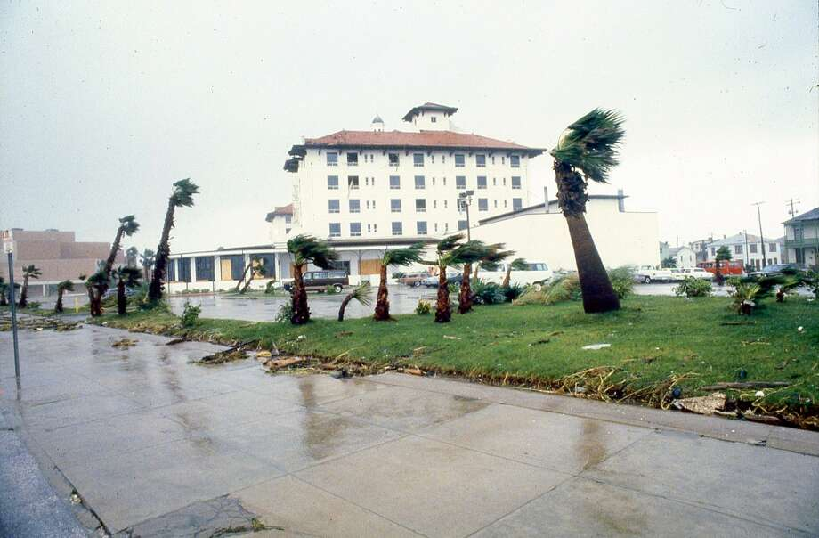 Hotel Galvez, August 17, 1983. Photo: Houston Chronicle