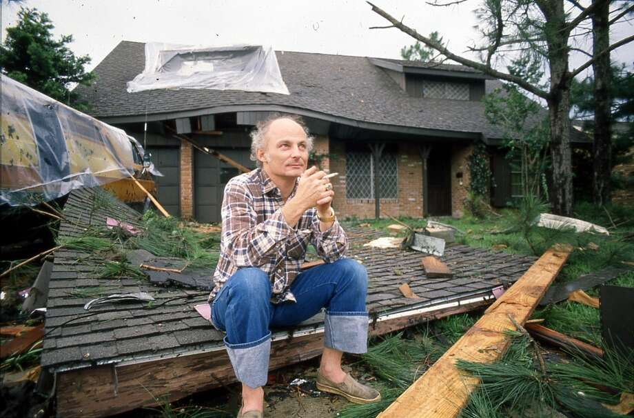 Hurricane Alicia damage, August 1983. Photo: Craig Hartley, Houston Post