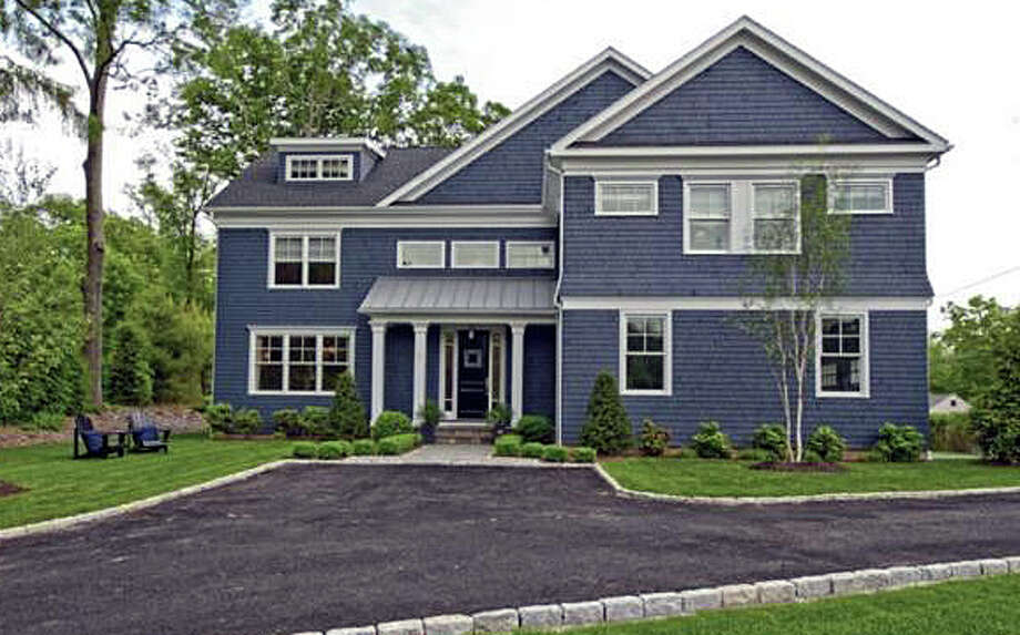 The house at 1 Webb Road recently was sold for $2.125 million. Photo: Contributed Photo / Westport News contributed