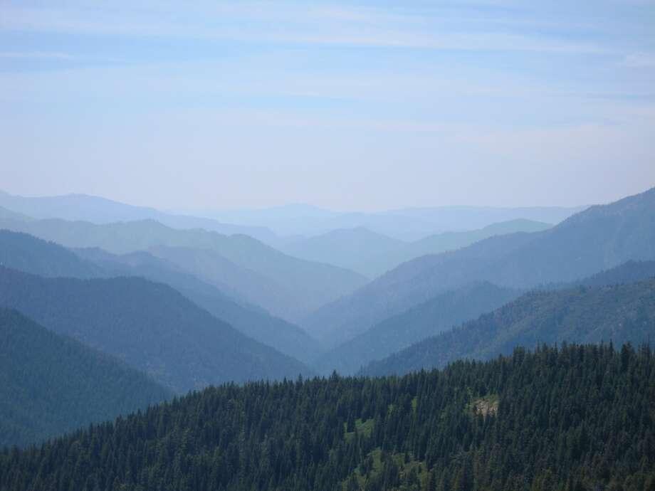 View from Etna Summit in Siskiyou County Photo: Josh Garrett