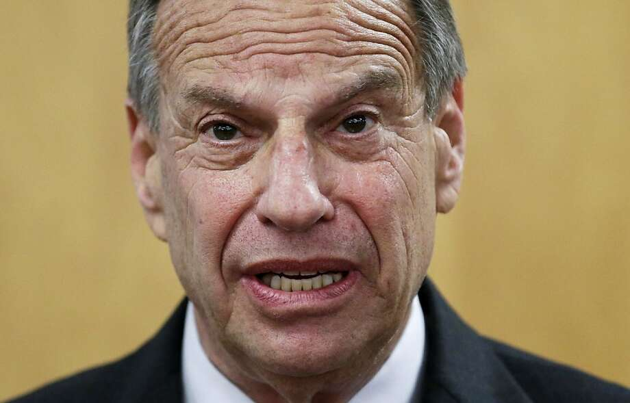 San Diego Mayor Bob Filner is stepping down in the face of sexual harassment allegations. Photo: Gregory Bull, Associated Press