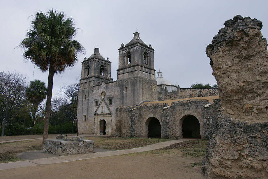 Only one of four missions in San Antonio Missions National Historical Park is designated a National Historic Landmark, and that's Mission Concepción (above). It's one of eight National Historic Landmarks in the city, along with the Espada Aqueduct (which is on the park's grounds), the Alamo, Fort Sam Houston, Hangar 9 at Brooks City-Base, the Majestic Theater, the Randolph Field Historic District and the Spanish Governor's Palace.Related Slideshow: A look at San Antonio Missions National Historical Park Photo: JERRY LARA, San Antonio Express-News / SAN ANTONIO EXPRESS-NEWS