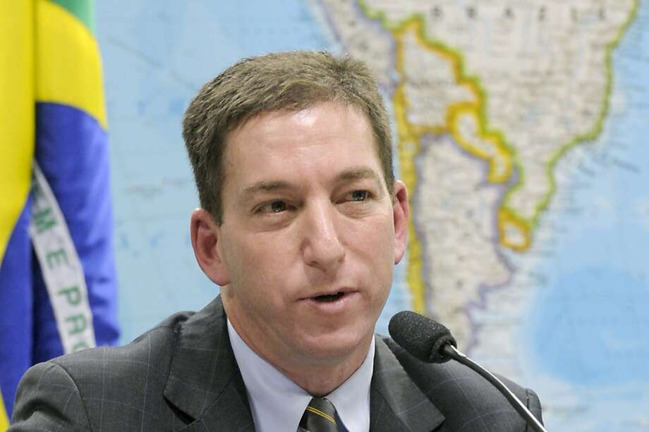 Reporter Glenn Greenwald, whose partner was questioned for nine hours. Photo: Lia De Paula, AFP/Getty Images