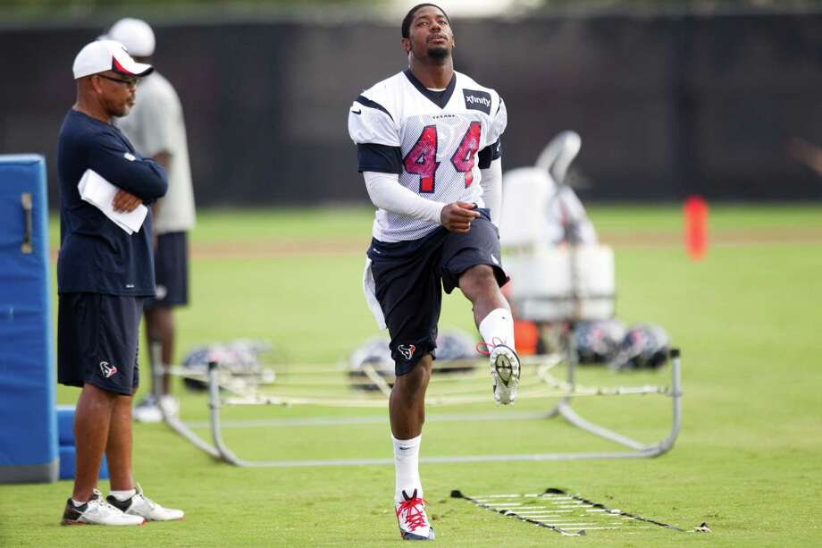 Arian Foster's back ailment will leave Ben Tate as the starter for the Texans' third preseason game - and maybe the season opener. Photo: Brett Coomer, Staff / © 2013 Houston Chronicle