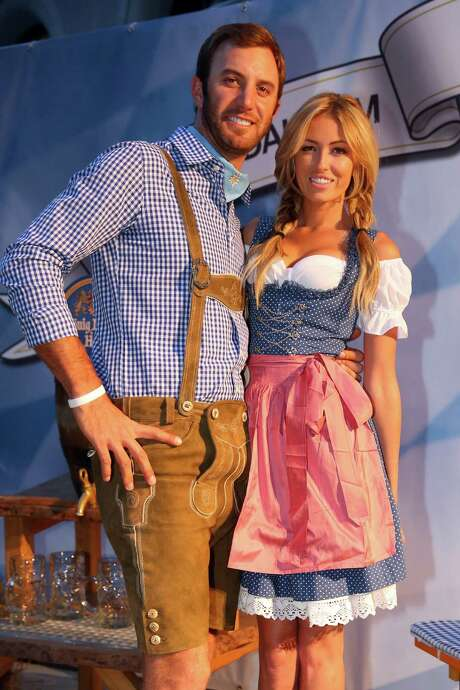 PGA player Dustin Johnson, the love interest of the Paulina Gretzky, has put a ring on it. Photo: Alexander Hassenstein, Staff / 2013 Getty Images For BMW