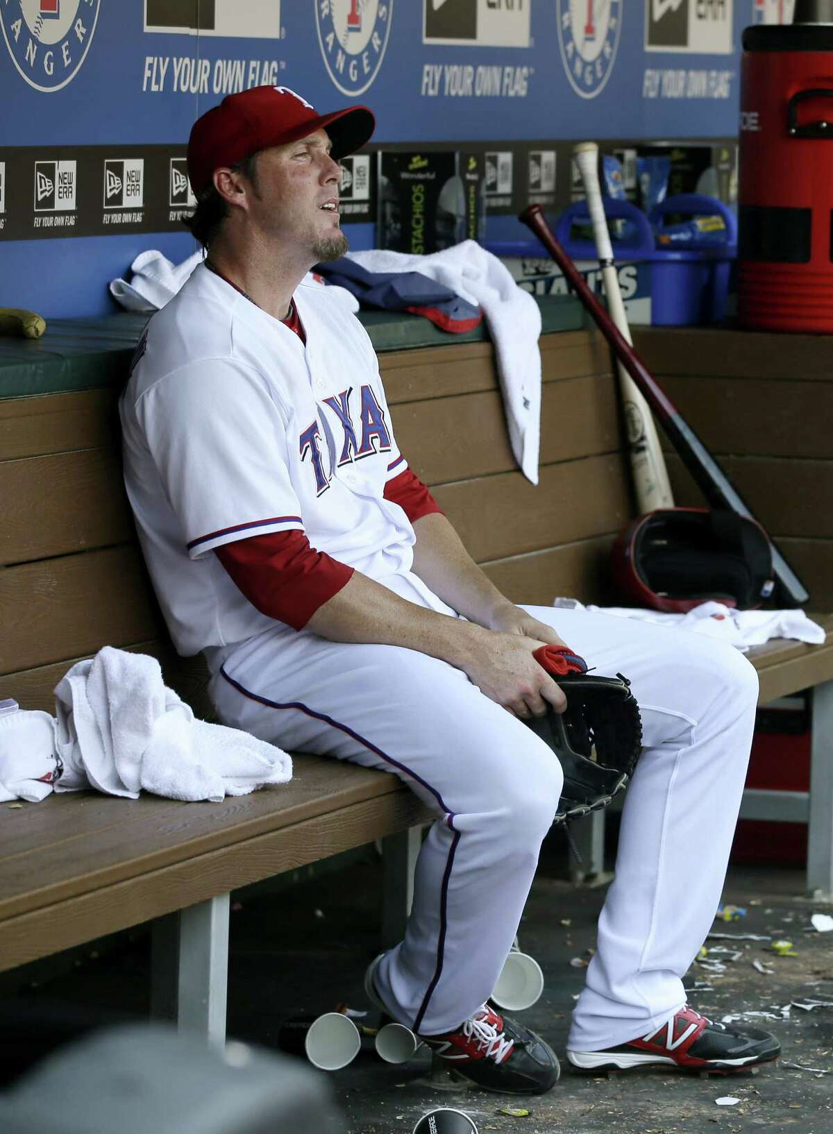 Rangers closer Joe Nathan laments the ninth-inning RBI double he surrendered to Seattle's Kyle Seager as the Mariners won two of three in Arlington.