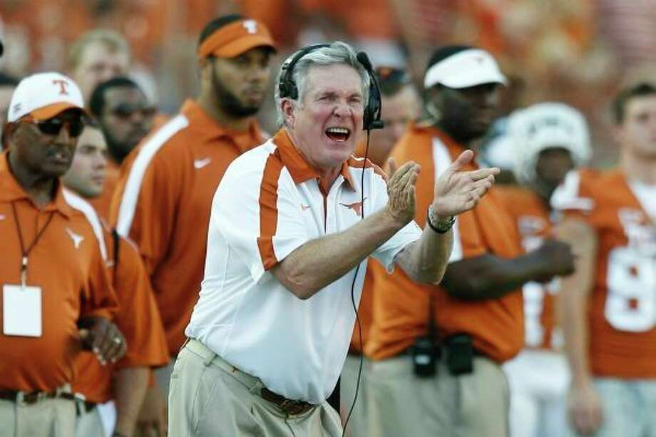 Salary: $5,266,667Title: University of Texas head football coachCurrent as of February 2012.Source: Texas Tribune Photo: Eric Gay, Associated Press / AP