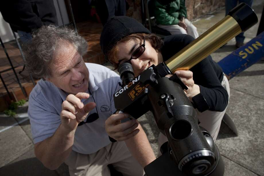 Turn your eyes to the sky with events via S.F. Amateur Astronomers, S.F. Sidewalk Astronomers or the S.F. State Observatory. Photo: David Paul Morris, The Chronicle