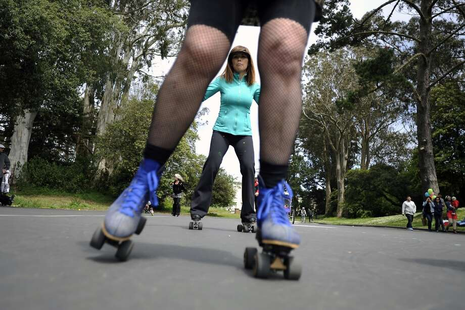 Spend a Sunday morning at the 6th Avenue skate park in Golden Gate Park. Photo: Michael Short, Special To The Chronicle