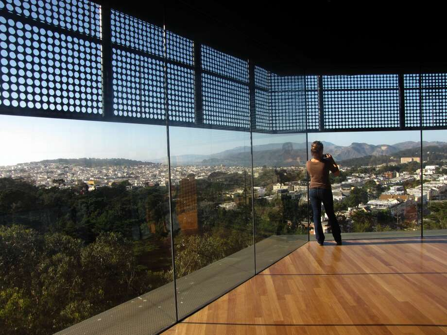 Head to the De Young for the view from the tower and Friday night art events. Photo: Stephanie Hession