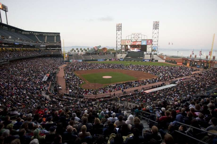...and watch some free opera at the annual AT&T Park simulcast. Photo: Sonja Och, The Chronicle