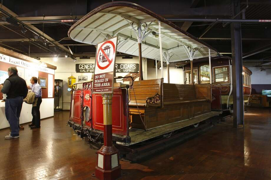 Visit the S.F. Cable Car Museum or the S.F. Railway Museum, both free anytime. Photo: Frederic Larson, The Chronicle