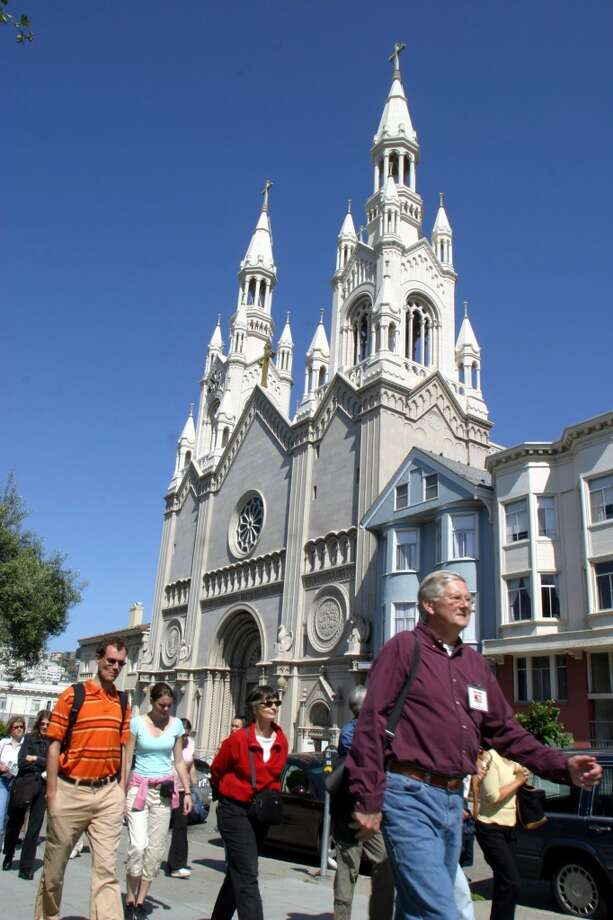 Take one of many themed walking tours offered by the nonprofit San Francisco City Guides. Photo: Jay Solomonson, AP