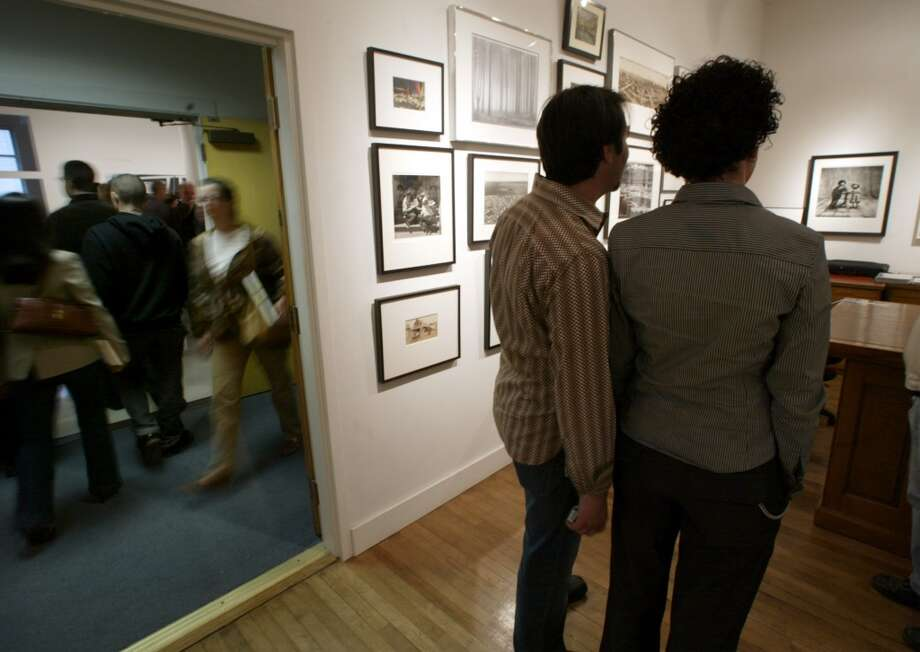 Get artsy at the First Thursday art walk or smaller neighborhood walks. Photo: Chris Stewart, SFC