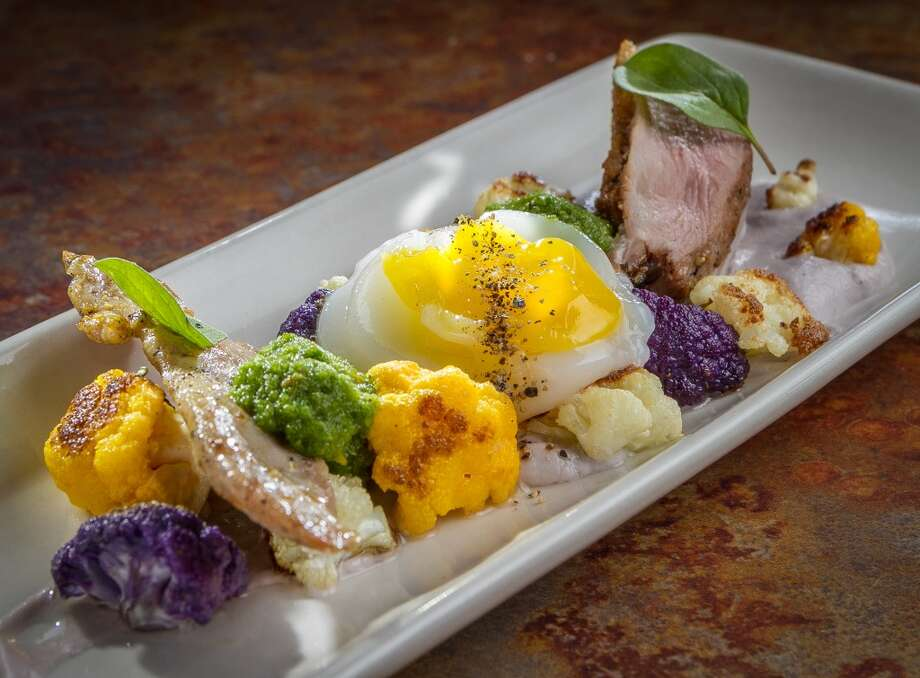 """What Came First?"", (duck three ways), at The Palace in San Francisco. Photo: John Storey, Special To The Chronicle"
