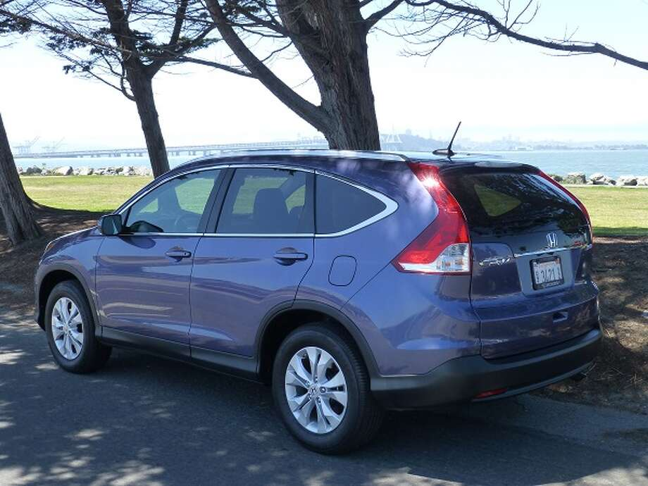 On the road, the CR-V has adequate power (2.4-liter four-cylinder with 185 horsepower, driven through a five-speed automatic transmission) and will climb up to U.S. freeway cruising speed and stay there. Gas mileage runs 22/30 mpg, city/highway. At speed, the car is quiet enough and the most noise you'll hear comes from the tires.