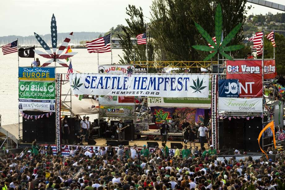 Hed PE performs on the third and final day of Seattle Hempfest Sunday, August 18, 2013, at Myrtle Edwards Park in Seattle. (Jordan Stead, seattlepi.com) Photo: JORDAN STEAD, SEATTLEPI.COM