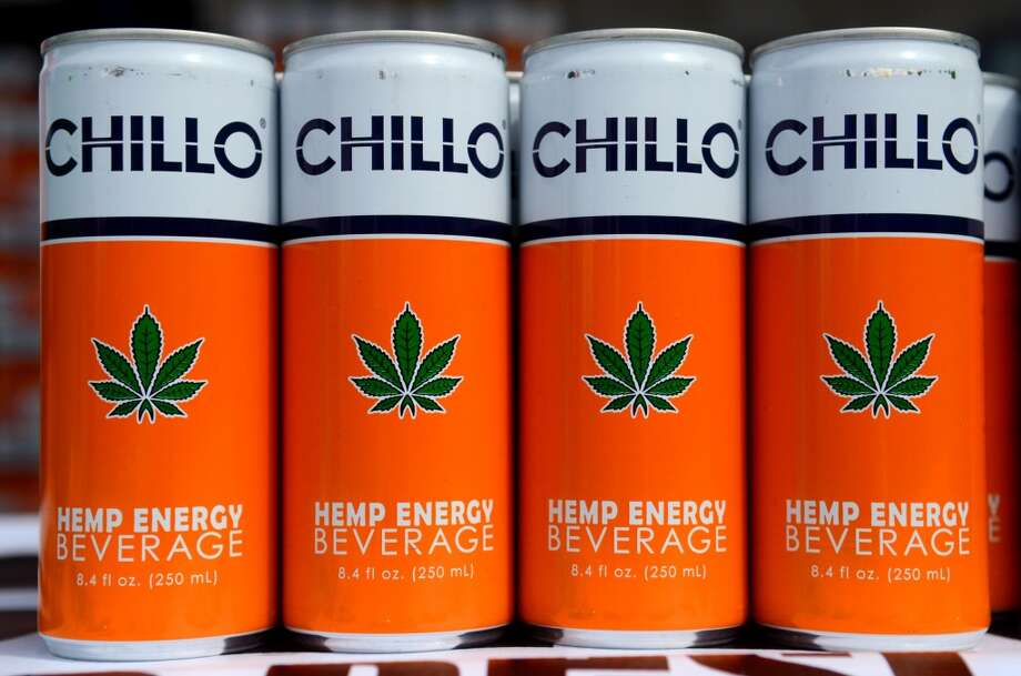 Hemp infused energy drinks were sold during the second day of the annual Hempfest Saturday, Aug. 17, 2013. This is the first year for the annual pro-pot rally since Washington State voters legalized recreational use of marijuana. (Sy Bean, seattlepi.com) Photo: SY BEAN, SEATTLEPI.COM